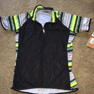 Canari NWT Three pocket ladies cycling shirt sz XL